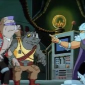 438 - Série TV 1987 Tortues Ninja Turtles TMNT - 3 Bebop Rocksteady Shredder