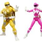 Figurines April Michelangelo Lightning Power Rangers collection Hasbro 2021 Tortues Ninja Turtles TMNT_1