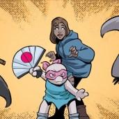 TMNT #119 IDW Comics 4 Lita Mushroom Zink ZannaJones Lola Tortues Ninja Turtles TMNT