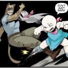 TMNT #120 IDW Comics 8 Old Hob Zanna Lita Tortues Ninja Turtles TMNT