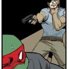 TMNT #120 IDW Comics 9 Old Hob Raphael Tortues Ninja Turtles TMNT