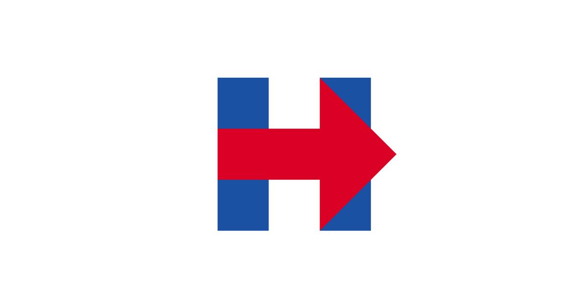 hillary clinton controversial viral logo
