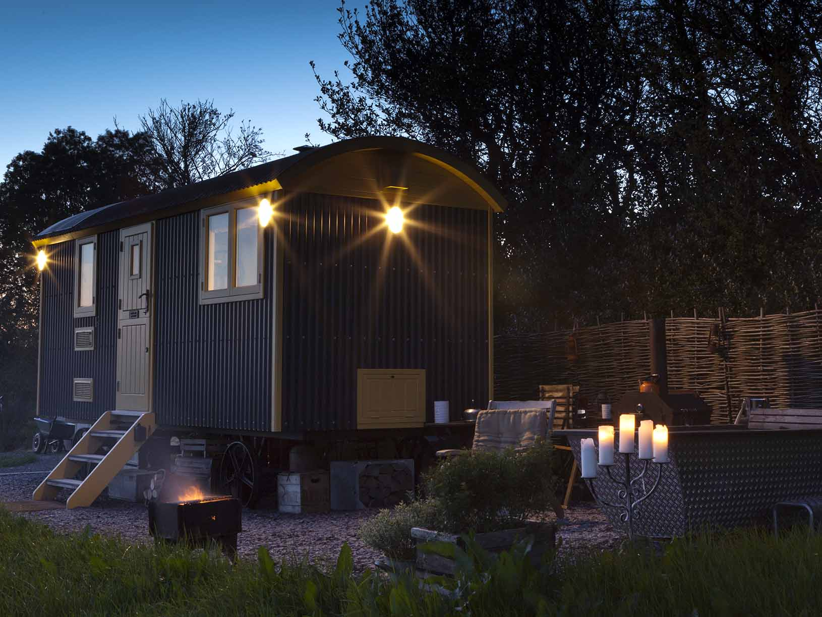 book ted u2013 tor view shepherds huts