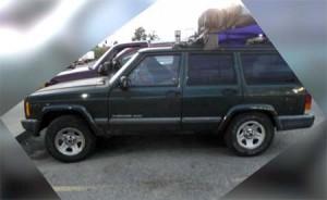 Jeep Cherokee stuffed