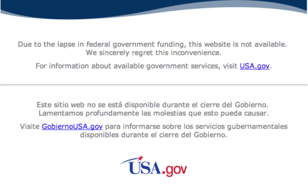 404 Government Not Found
