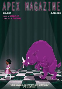 Apex Magazine Issue 61 cover Bleef