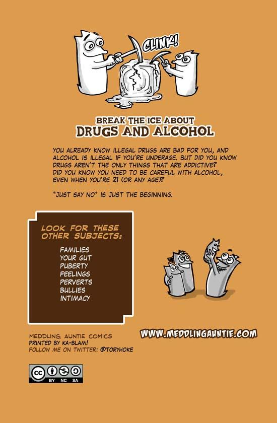 Meddling Auntie Presents Drugs