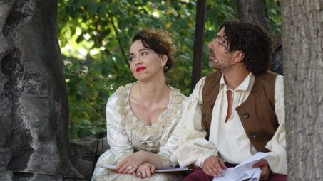 Chiara Francini e Andrea Bruno Savelli