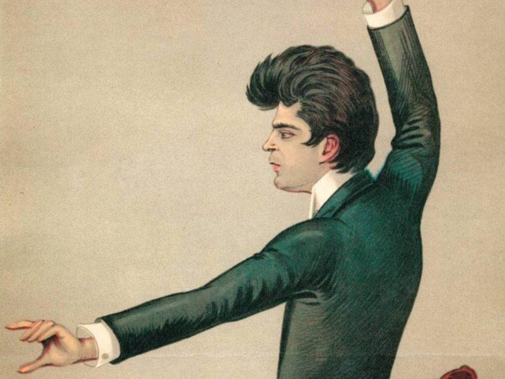 Mascagni dirige (1893, Museo Teatrale alla Scala)