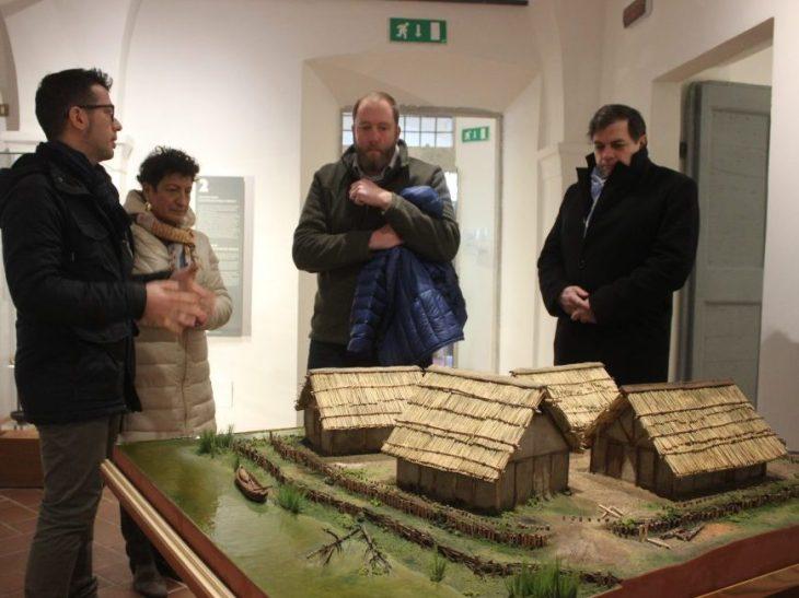 Foto visita docente Troy University Museo Archeologico