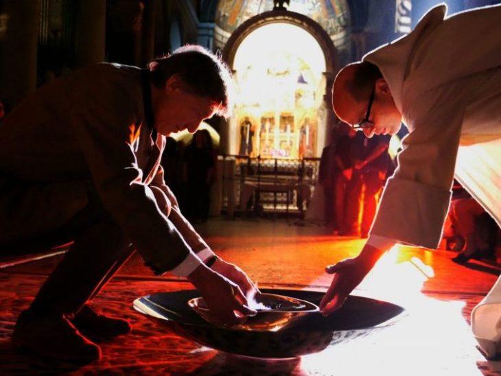 Abate Bernardo e Marco Bagnoli Basilica San Miniato al Monte Celebrazioni Millenario