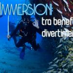 """Le immersioni subacquee vanno annoverate tra i migliori sport al mondo. E, allo stesso tempo, tra i modi più salutari per """"costruire"""" e mantenere un fisico da """"bronzo di Riace""""."""