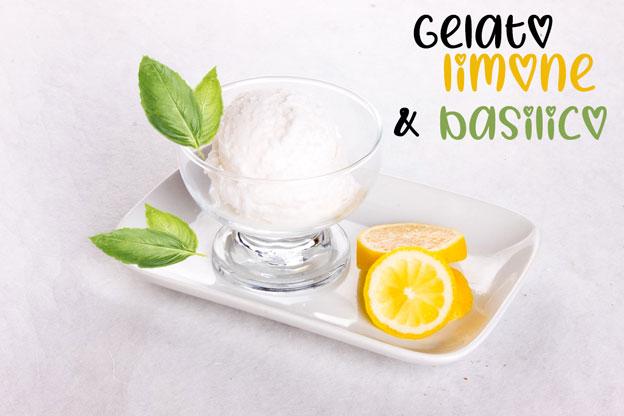 gelato limone-e-basilico