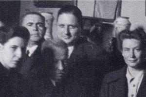 Giorgio Amendola a casa di Benedetto Croce (1945)