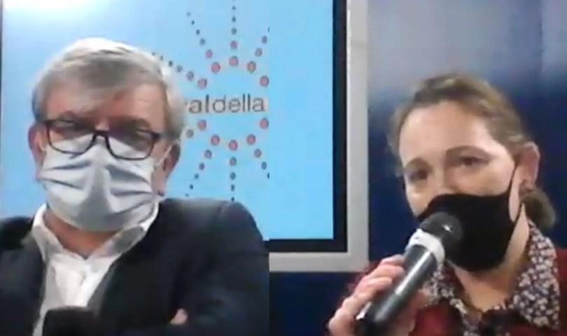 Paolo Amabile e Francesca Apolloni