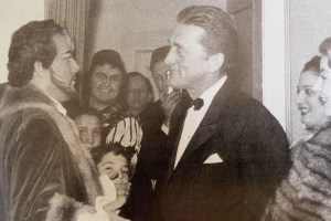 Mario Del Monaco con Kirk Douglas