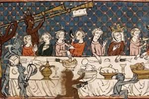 Miniatura tratta dal 'Breviari d'Amor' (primo quarto del XIV secolo), British Library, Londra.
