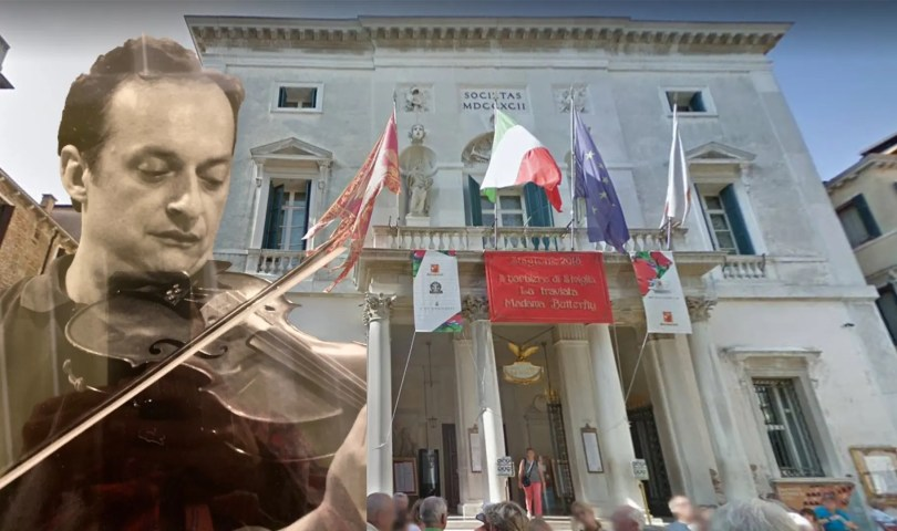 Lorenzo Corti, musicista del Teatro La Fenice