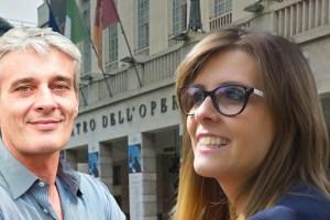 Antongiulio Pelonzi e Giulia Tempesta, Roma