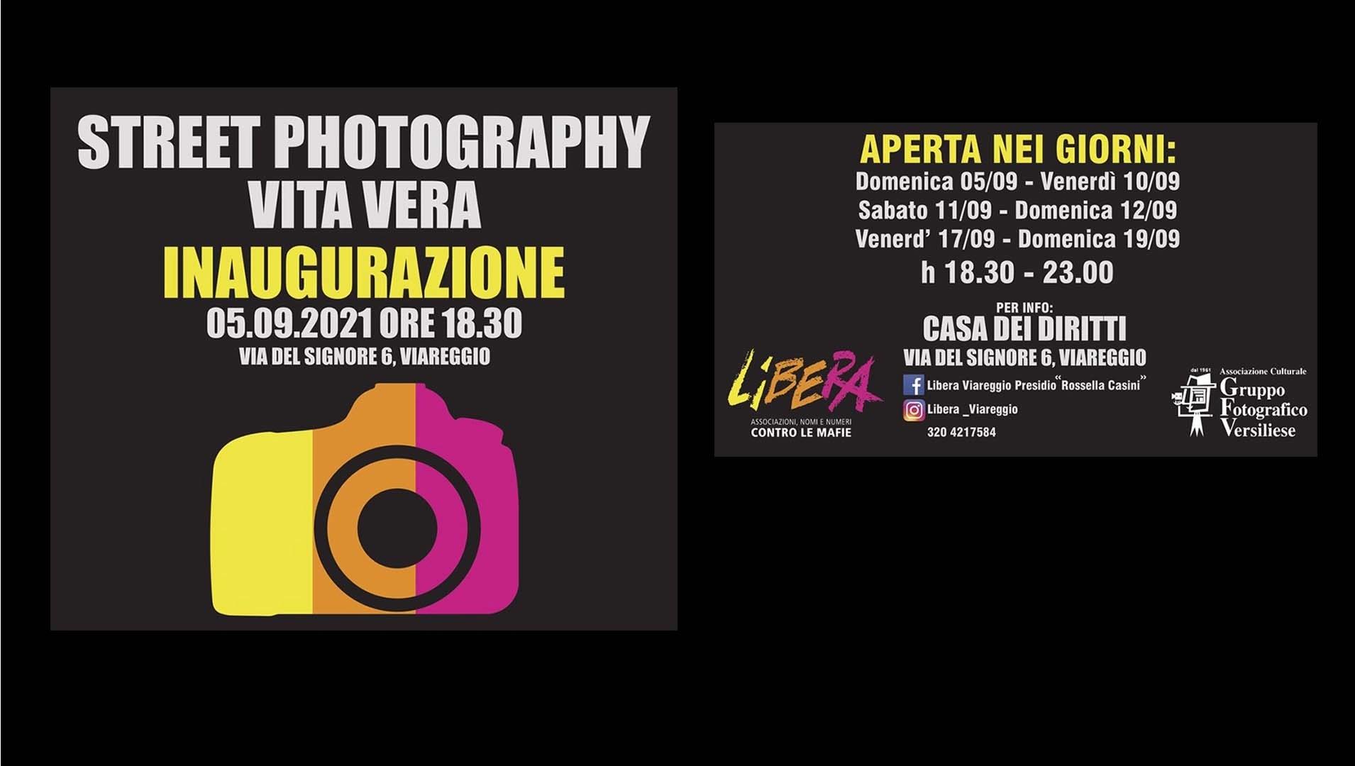 "FOTOGRAFIA - ""Street photography: Vita vera"""