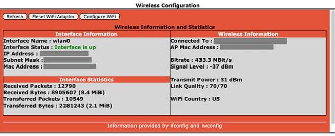 Additional configuration settings - Wireless Configuraiton
