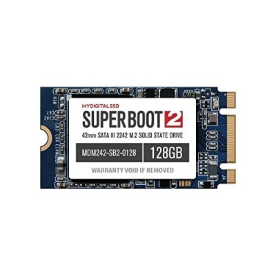 MyDigitalSSD Super Boot 2 (SB2) 42mm M.2 2242 NGFF SATA III (6G) SSD Solid State Drive (128GB 2242)