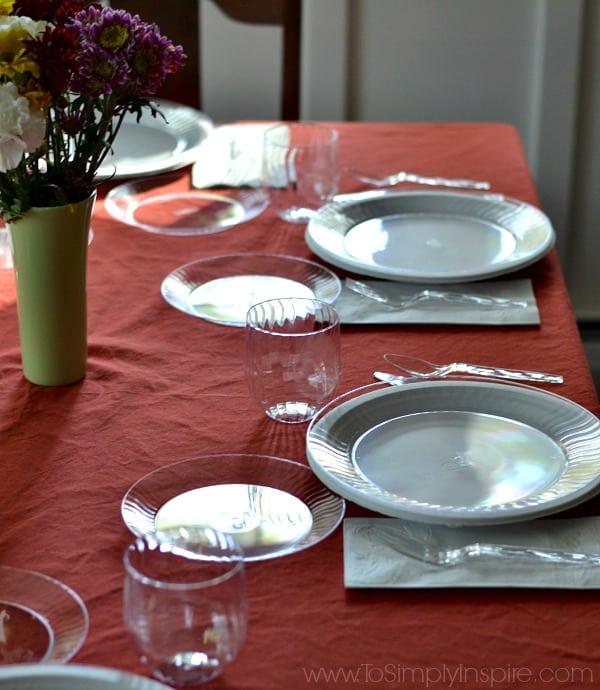 & Chinet Cut Crystal Dinner Plates