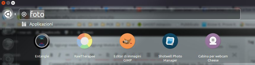 Ubuntu, taggare i programmi