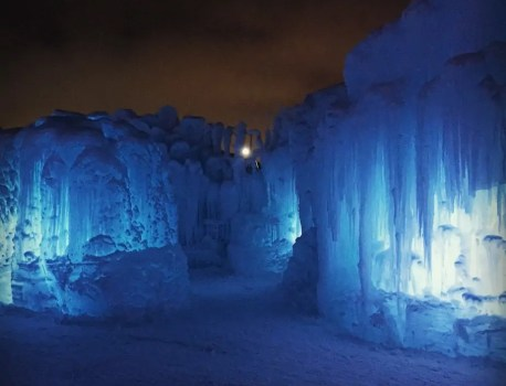Edmonton: Magical Ice Castles!