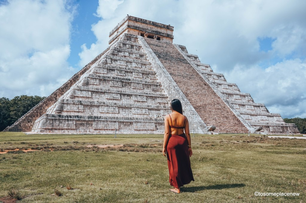 Exploring the Mayan Ruins of Chichen Itza, Mexico. Read all about its history, travel tips and itinerary. A quick guide to Chichen Itza, one of the wonders of the modern world.