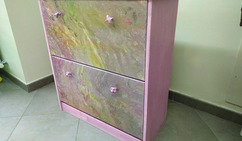 Zapatero tranformado chalk paint
