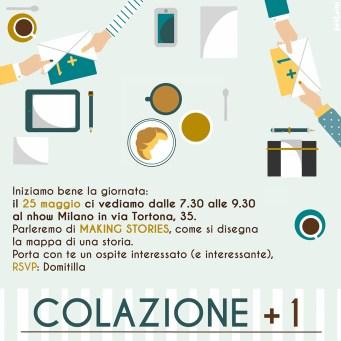 Colazione + 1 Domitilla Ferrari illustration by Tostoini