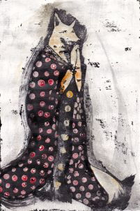 Madama Volpe Kitsune illustration by tostoini