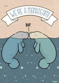 We're manatees