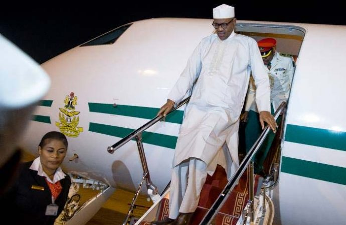 Buhari-Returns-From-China-690x450