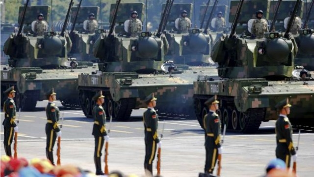 China's defence budget increase by 7%