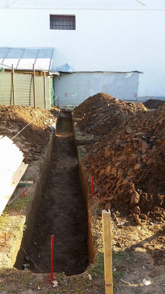 Imagini pentru plan sapatura fundatii - Saparea fundatiei- Galerie foto