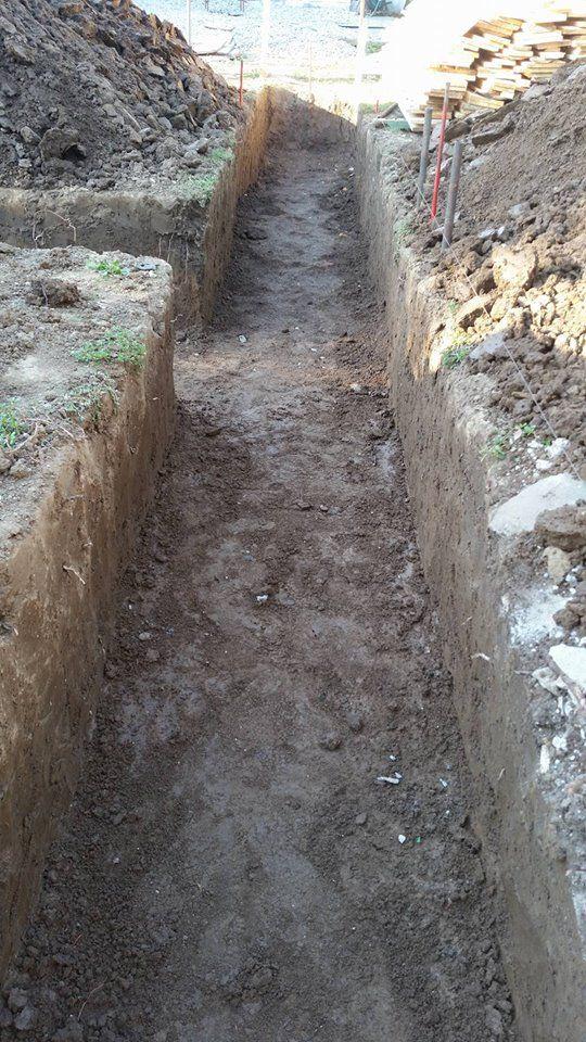 pret fundatie casa 80 mp - Saparea fundatiei- Galerie foto
