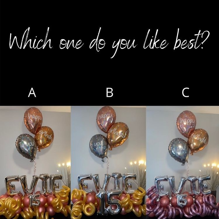 Celebrating Evie's birthday this weekend. Which one do you like best? #allinthedetails #spotthedifference #balloonmarquee #balloondeliverynj #floatfabulous @float2022 #balloonsbytotalparty #peddieschool #wedeliversmiles #🎈