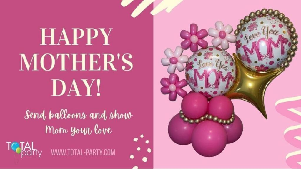 Delivering May 7th for your weekend enjoyment! #mothersdayballoons  #balloonsbytotalparty #balloondeliverynj #balloonmarquee #eastbrunswicknj