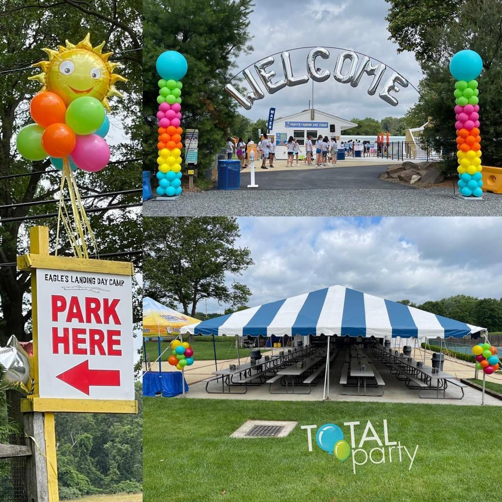 It's time for Spring into Summer at ELDC!  #camp2021 #welcomeballoons #campballoons #eastbrunswickballoons #centraljerseyballoons #balloonsnj #balloonarch #corporateballoons