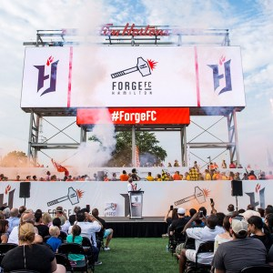 Forge FC Unveiled as Hamilton's CPL Club
