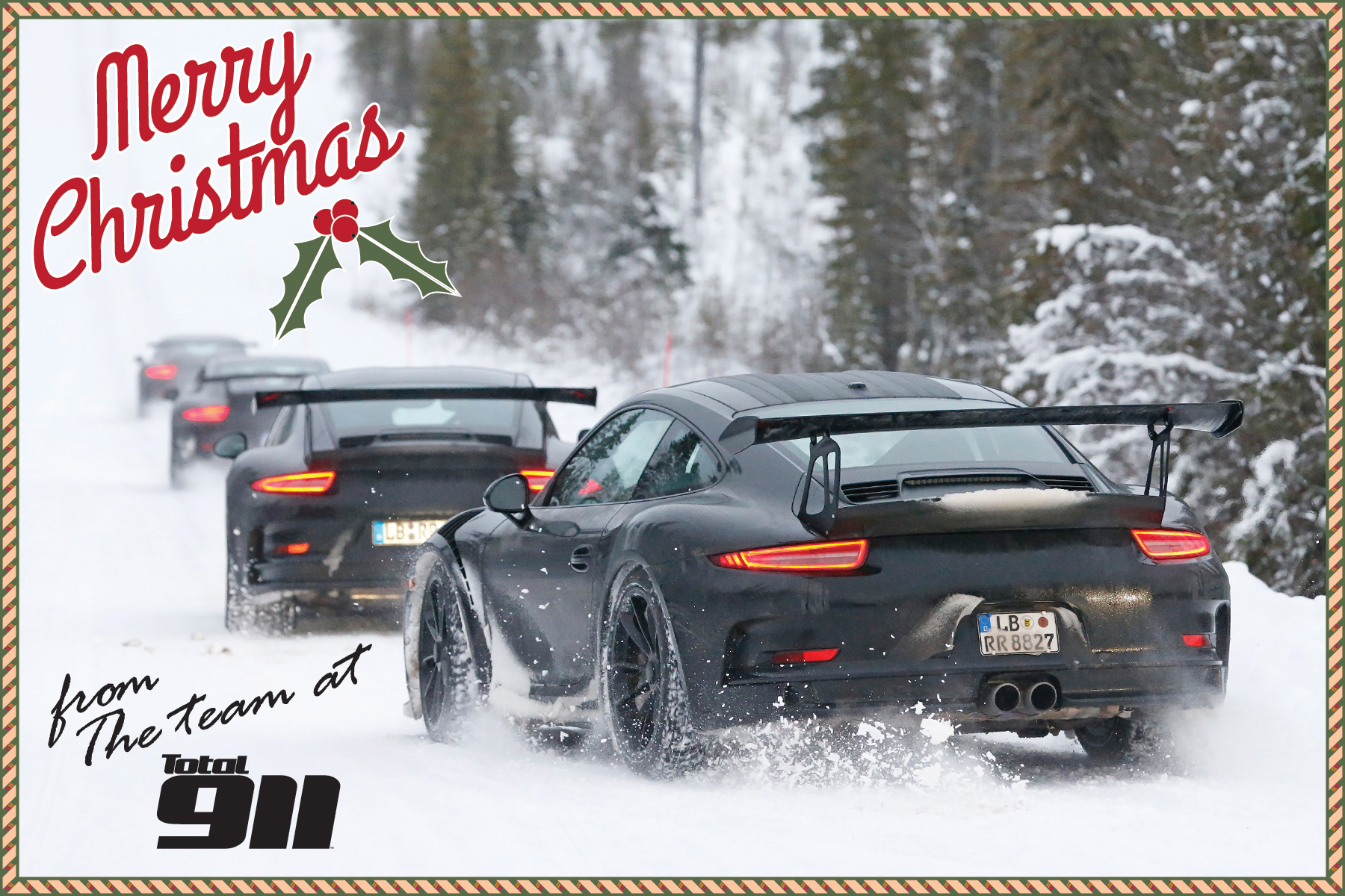 Merry Christmas From Total 911 Total 911
