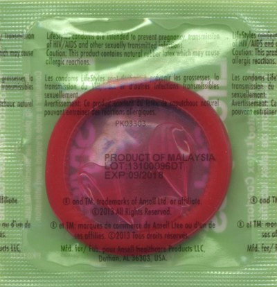 LifeStyles Assorted Colors lubricated condoms bulk ...