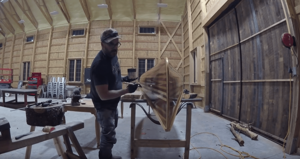 Building a Strip Canoe with You Tube Woodworking Star Jimmy Diresta