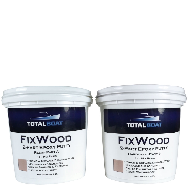 FixWood Wood Repair Epoxy Putty