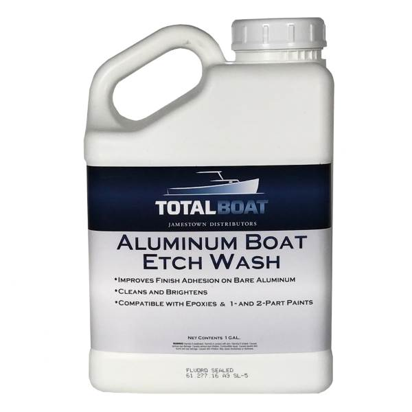 Aluminum Boat Etch Wash Cleaner and Conditioner