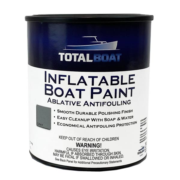 inflatable boat bottom paint