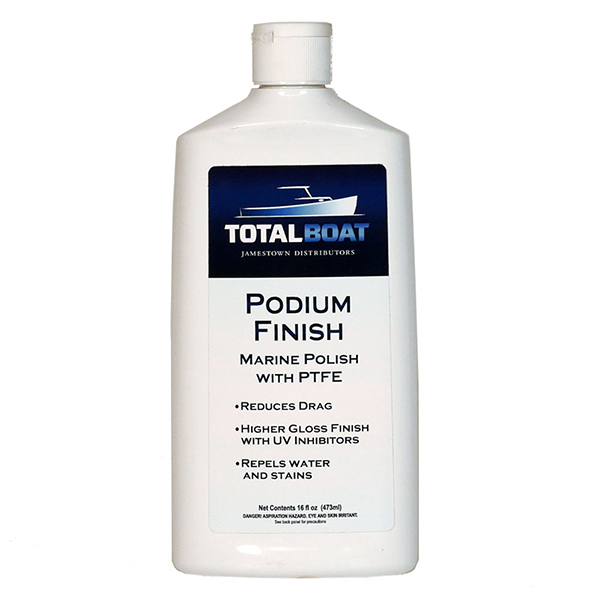 Podium Finish Marine Polish with PTFE