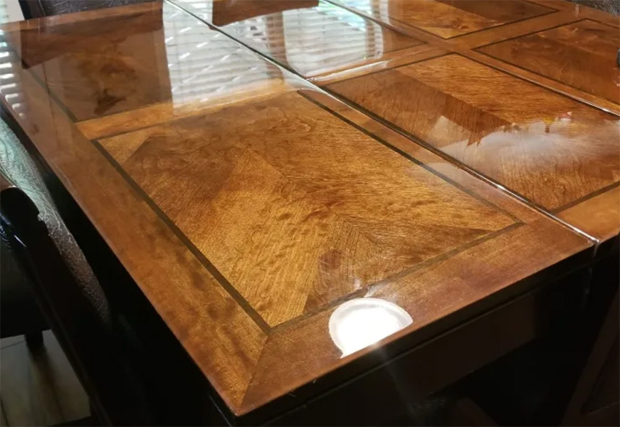 TotalBoat TableTop Epoxy table by customer Cyn